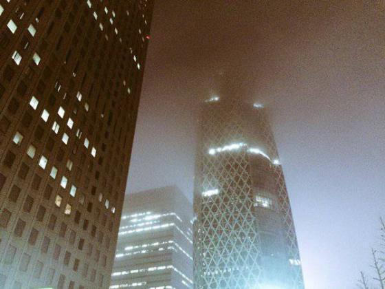 脑洞大开!日本网友热议岛国被雾气笼罩