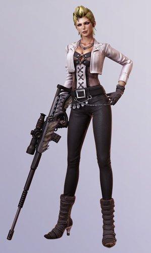 丧尸猎人女主角姓名_《电锯甜心》丧尸猎人新角色公开_动漫_腾讯网