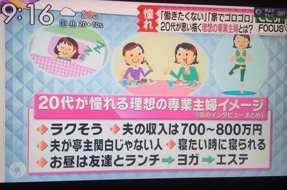 颠覆!日本全职太太新定义引发网友争议