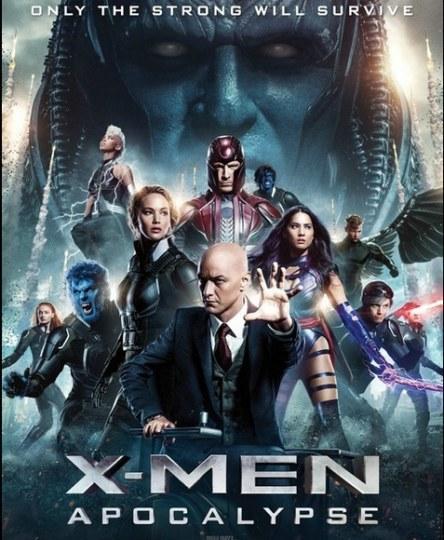 开打了!《X战警:天启》发布新海报