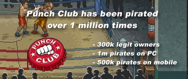 拳击游戏Punch Club:盗版销量为正版销量5倍