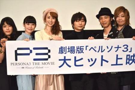 石田彰绪方惠美重聚《女神3》宣传会
