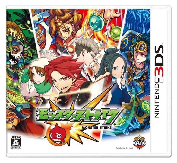 3DS版《怪物弹珠》发售翌日出货量破百万