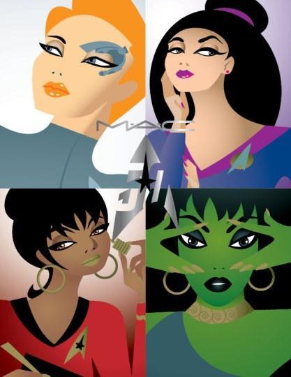 《星际迷航》五十周年庆推主题化妆品