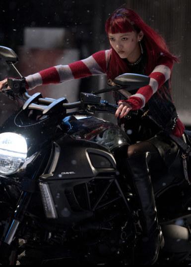 福岛莉拉携手斯嘉丽出演《攻壳机动队》