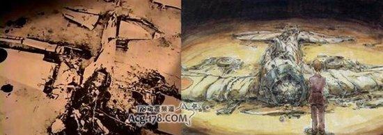 宫崎骏《风雪黄昏》公开大型海报
