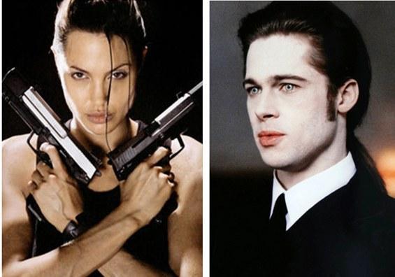 劳拉与吸血鬼天生不合 安吉丽娜与布拉德离婚了