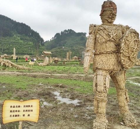 美队你醒醒!国内景区惊现雷人版漫威英雄雕像