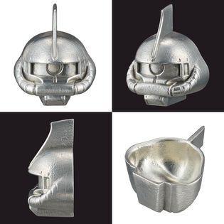 《高达》推出传统工艺的扎古头酒杯