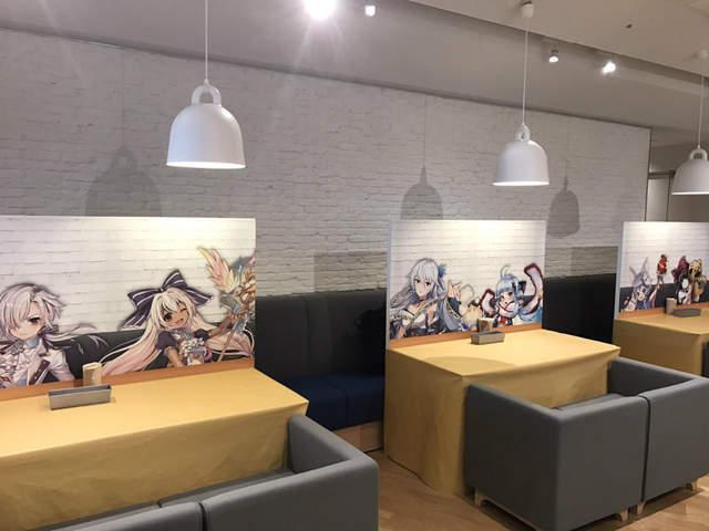 和女神来个心跳加速的约会吧!《白猫project》主题餐厅开业-看客路