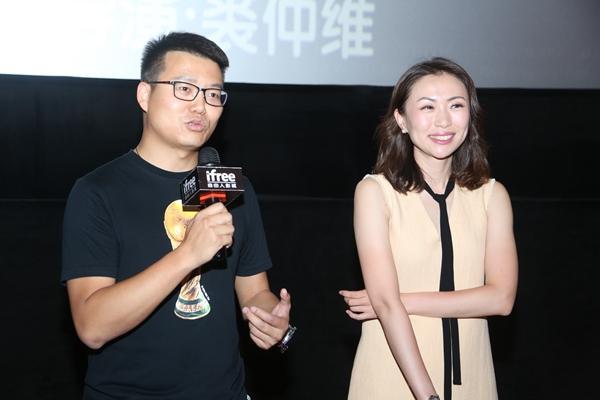 中央電視臺體育頻道主持人劉嘉遠和記者王楠圖片