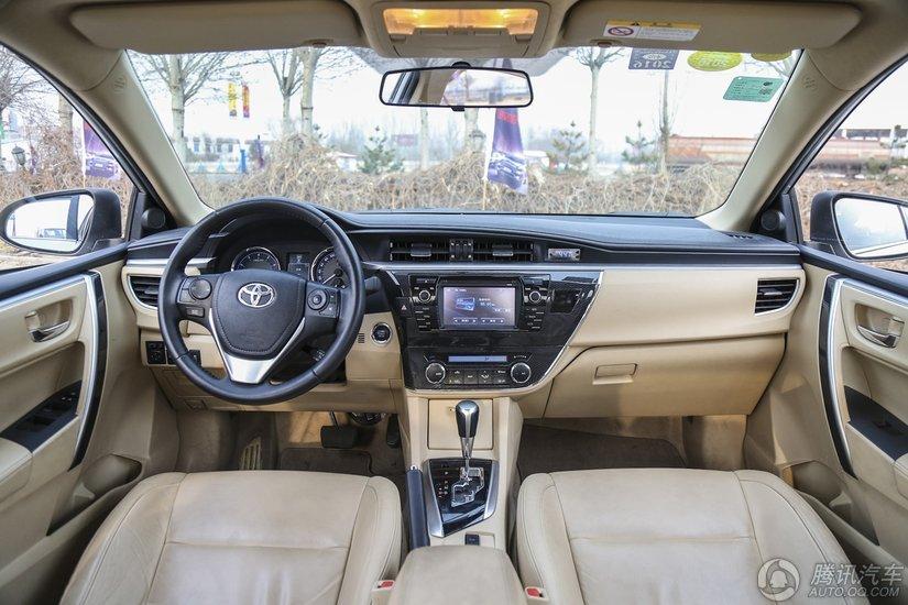 卡罗拉 2014款 1.8L CVT Premium至高版