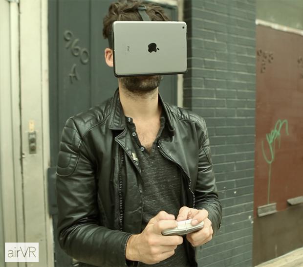 AirVR:一款专门为iOS准备的VR 支持iPad mini