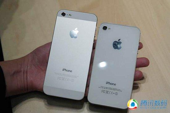 蘋果iPhone 5現場體驗 輕薄寬屏是亮點
