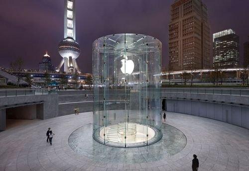 苹果旗舰店_保护知识产权 苹果上海旗舰店获设计专利_数码_腾讯网