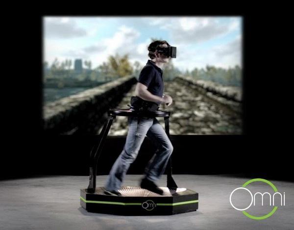 虚拟现实跑步机到底是个什么鬼? AR资讯 第3张