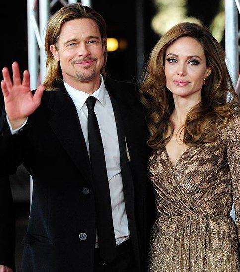 曝皮特与朱莉未来两年定居伦敦 婚礼将在法国办