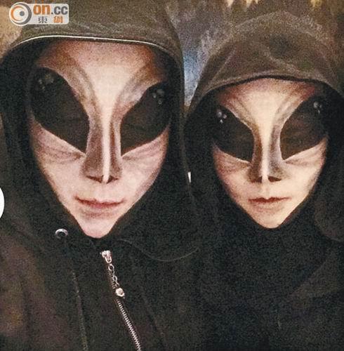 蔡卓妍撇男友与容祖儿鬼混 邓丽欣化身外星人