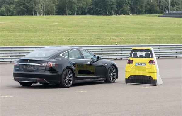特斯拉Model S自动刹车测得不合格:官方辩解
