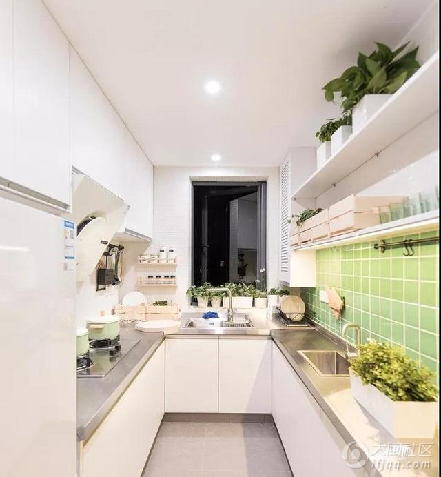 厨房也有时尚潮流设计