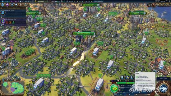 超级文明垹g,_文明6玩家造出200人口超级大城!约等于现实27亿人