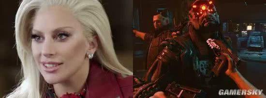 Lady Gaga或合作《赛博朋克2077》 扮演一名游戏