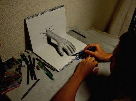 惟妙惟肖 插画中的创意3d神作