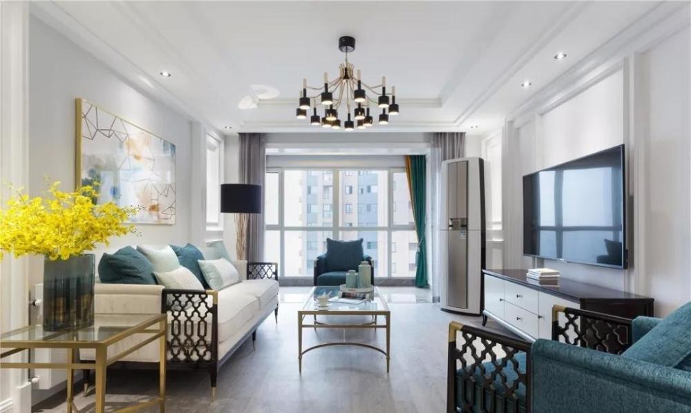 颜值爆表的客厅装修案例,时尚大气上档次!