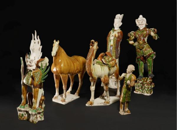 大英博物馆藏唐三彩文官俑背后的故事