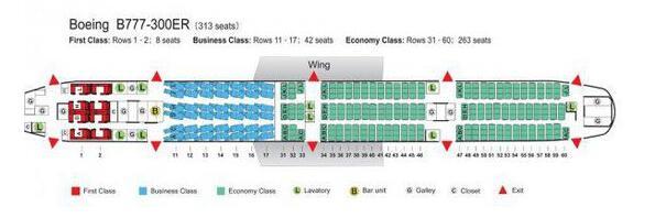經濟艙座位選擇指南 絕對舒適圖片