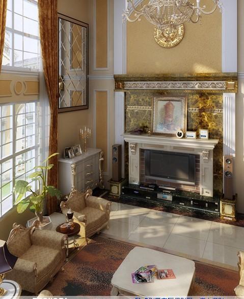 低調奢華歐式客廳裝修美圖 多彩感受由此開啟