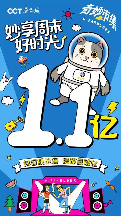 奇妙市集X抖音=1个亿华侨城奇妙市集火爆整个夏天背后有何玄机