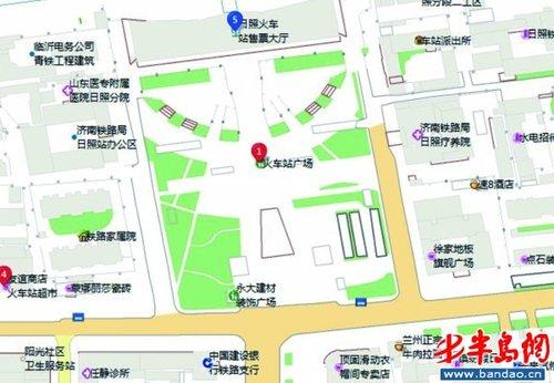 """日照交友网qq_港城地理信息实现""""一图通""""_大楚网_腾讯网"""