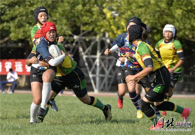 保定包揽河北省第十五届运动会橄榄球比赛四金