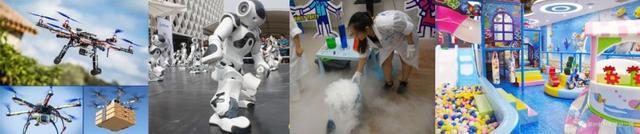 科学魔法 秀机器人无人机一场科学的饕餮盛宴强势来袭