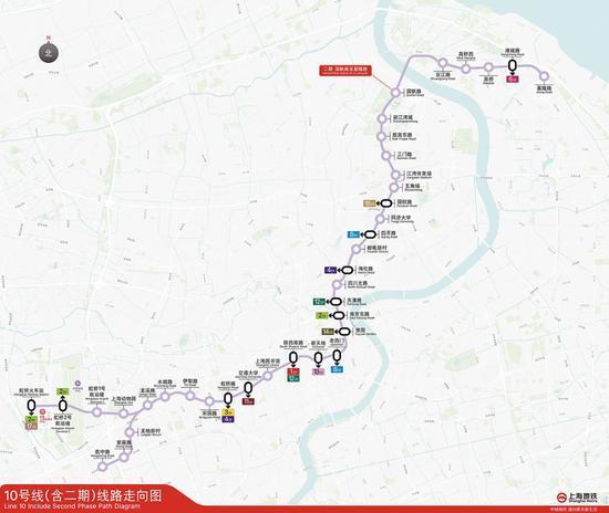 上海今年启动建设 加快建设轨交新线一览
