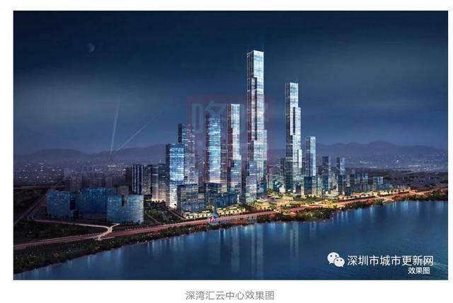 深圳未来高楼规划_厉害!40栋300米以上高楼 深圳将成为摩天之城_房产深圳站_腾讯网