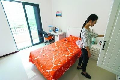 家具家电一应俱全 人才公寓月租最低人均百元