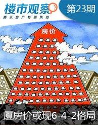 """厦门房价或现""""6、4、2""""格局 涨多高才肯罢休?"""