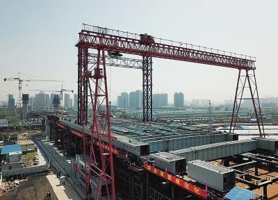 鄭州農業路鄭北大橋將實現跨越鄭州北站并年底通車