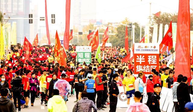 军霞杯·2018邳州国际半程马拉松鸣枪开跑