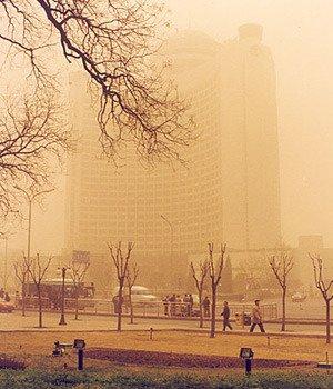 如何減少沙塵暴對人體的危害