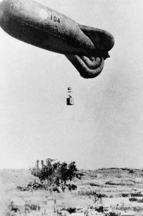 辽沈晚报社区报_沈阳再现日军侵华铁证 日军曾派300多气球侦察_大辽网_腾讯网
