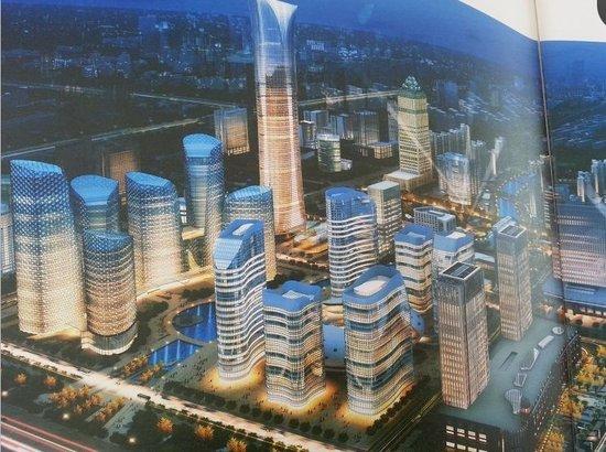 南通小道:传新城区超豪华中南新世界广场全面开工