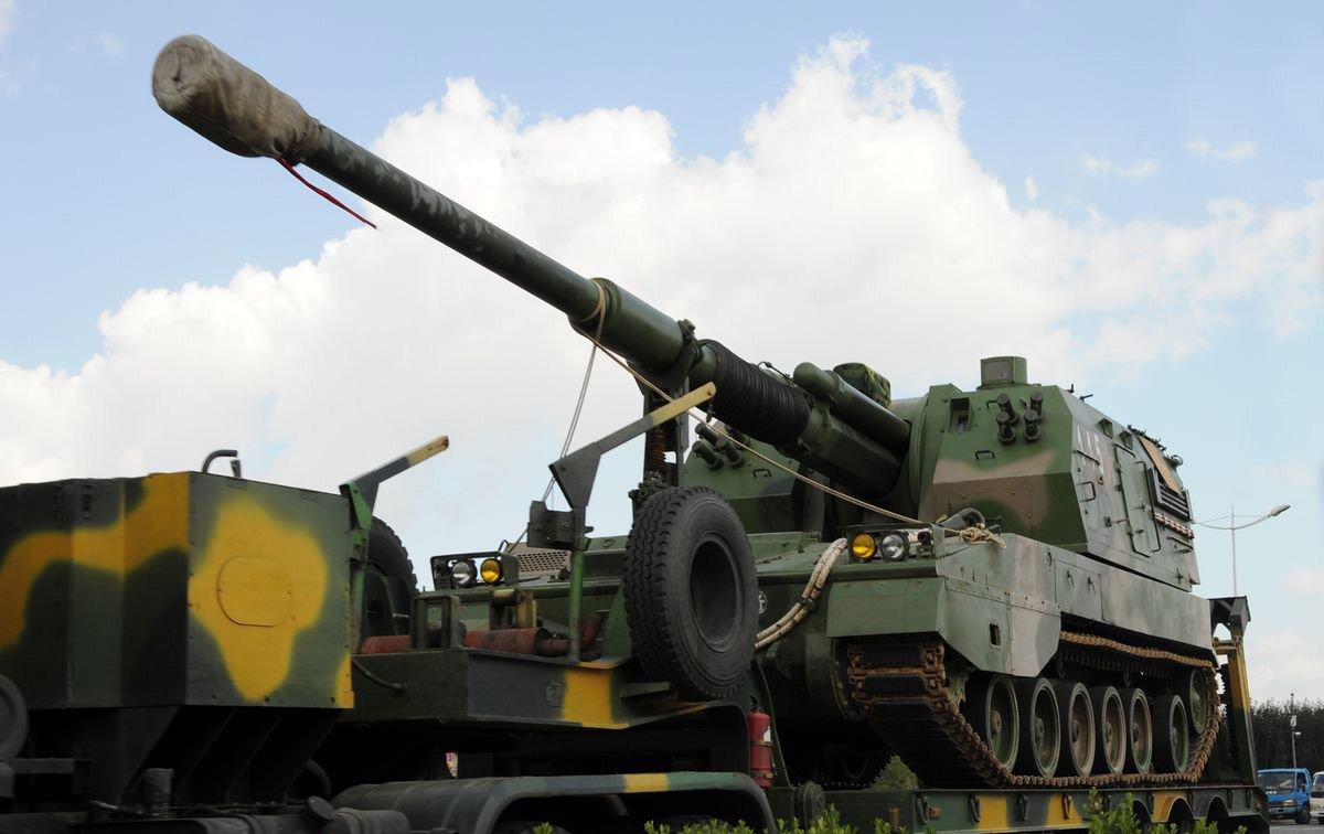 炮�_组图:中国陆军plz-05型155毫米自行榴弹炮