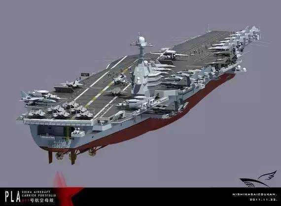 中国最新国产航母_中国首艘国产航母为何只有五万吨?_新闻_腾讯网