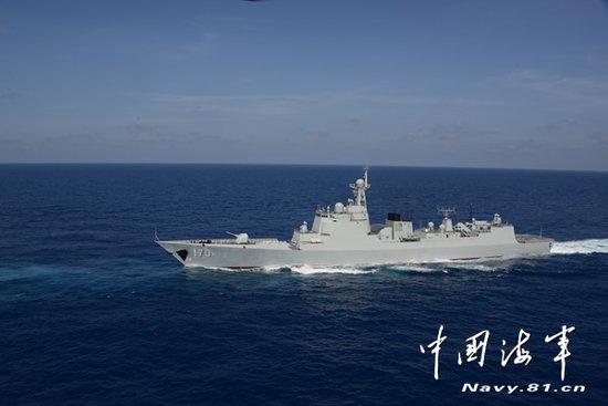 今日钓鱼岛军事新闻_海军南海舰队今日上午在钓鱼岛附近海域巡航_新闻_腾讯网