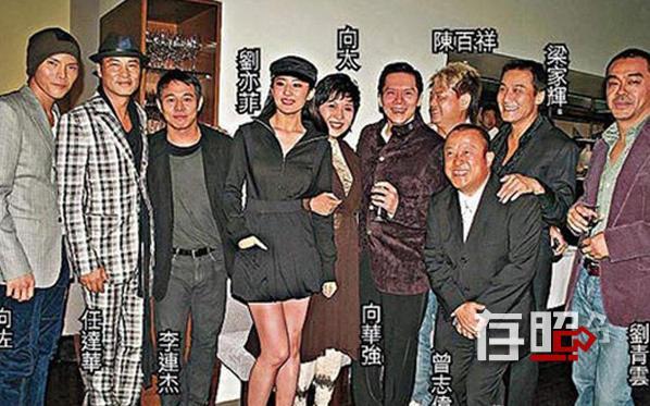 香港电影明星大佬_香港影视大佬向华强:不在江湖,江湖却有他的传说