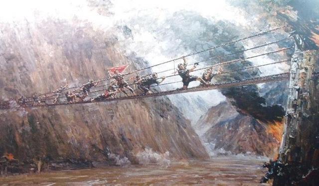 有关泸定桥的资料_红军飞夺泸定桥靠与军阀达成默契?人民日报驳斥_新闻_腾讯网