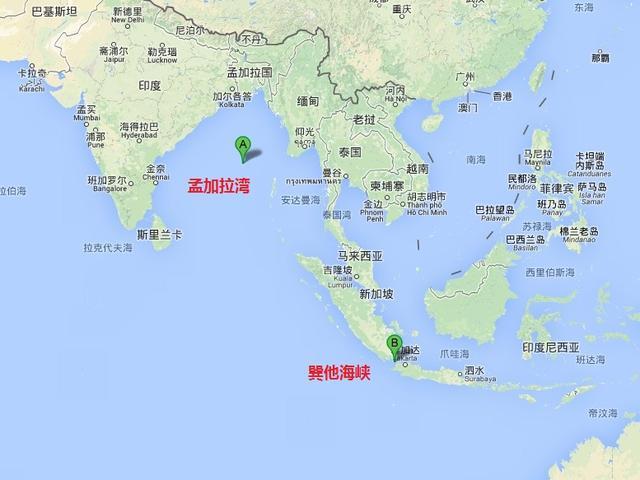 马航飞机失联地点_中国搜救舰机将分兵前往孟加拉湾和巽他海峡_新闻_腾讯网